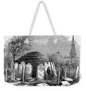 Newark Cemetery, 1876 Weekender Tote Bag