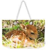 Newborn Fawn Weekender Tote Bag