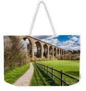 Newbridge Rail Viaduct Weekender Tote Bag