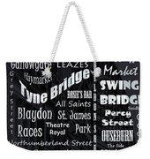 Newcastle Weekender Tote Bag