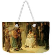 Newgate Committed For Trial, 1878 Weekender Tote Bag