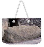 Newgrange Entrance Kerb Weekender Tote Bag