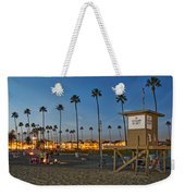 Newport Beach At Dusk Weekender Tote Bag by Kelley King