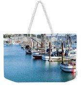 Newport Fishing Fleet  Weekender Tote Bag