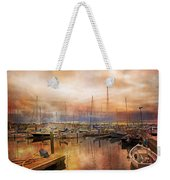 Newport Rhode Island Harbor I Weekender Tote Bag