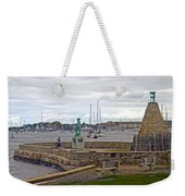 Newport Rhode Island Harbor Ivi Weekender Tote Bag