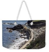 Newport's Cliff Walk View Weekender Tote Bag
