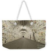 News In The Tunnel Weekender Tote Bag