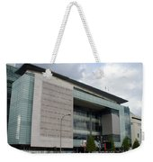 Newseum In Washington Dc Weekender Tote Bag