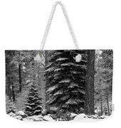 Next Season Christmas Trees Weekender Tote Bag