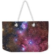 Ngc 6559 Emission And Reflection Weekender Tote Bag