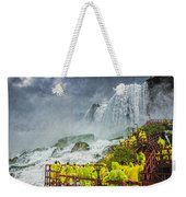 American Falls Niagara Cave Of The Winds Weekender Tote Bag