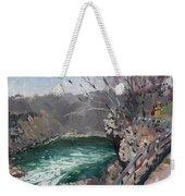 Niagara Falls Gorge Weekender Tote Bag