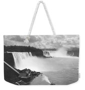 Niagara Falls Maid Of The Mist Weekender Tote Bag
