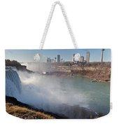 Niagara Falls Panorama Weekender Tote Bag