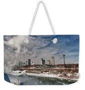 Niagara Falls The City 4534 Weekender Tote Bag
