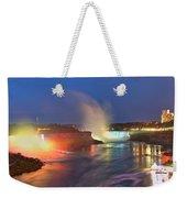 Niagara Falls Ultra Wide Panorama Weekender Tote Bag