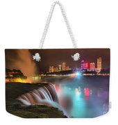 Niagara Starbust Skyline Panorama Weekender Tote Bag