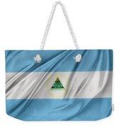 Nicaraguan Flag Weekender Tote Bag by Les Cunliffe