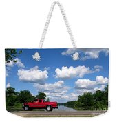 Nice Day For A Drive Weekender Tote Bag