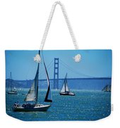 Nice Day On The Bay Weekender Tote Bag