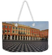 Nice France - The Cheerful Colors Of Place Massena Weekender Tote Bag