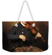 Niel Gow - Violinist And Composer Weekender Tote Bag