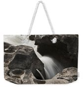 Nigel Creek Waterfall Detail Weekender Tote Bag