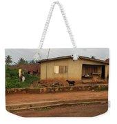 Nigerian House Weekender Tote Bag