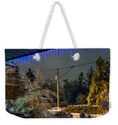 Night After The Ice Storm Weekender Tote Bag