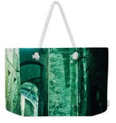 Night Alley In Old City Of Siena Tuscany Italy Weekender Tote Bag
