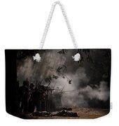 Night Battle Weekender Tote Bag