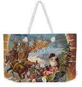 Night Before Christmas Weekender Tote Bag