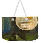 Night Bird Harvest Moon Weekender Tote Bag