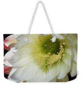 Night Blooming Cereus Cactus Weekender Tote Bag