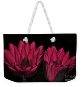 Night Blooming Lily 2 Of 2 Weekender Tote Bag