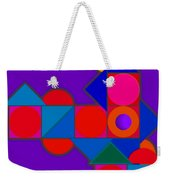 Night Color Weekender Tote Bag