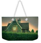 Night Cottage Weekender Tote Bag