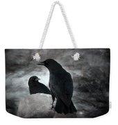 Mysterious Night Crows Weekender Tote Bag