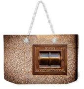 Night Deposit Weekender Tote Bag