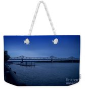 Night Fall On The Illinois River Weekender Tote Bag