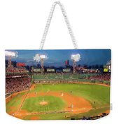 Night Fenway Pop Weekender Tote Bag