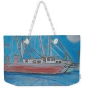 Night Fishing Weekender Tote Bag
