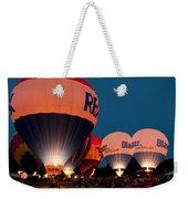 Night Glow Weekender Tote Bag