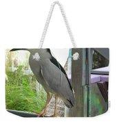 Night Heron Weekender Tote Bag