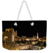 Night In The Old City Weekender Tote Bag