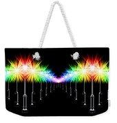 Night Light Panoramic Weekender Tote Bag
