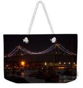 Night Lights Weekender Tote Bag