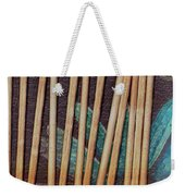 Night On The Bread Stick Planet Weekender Tote Bag