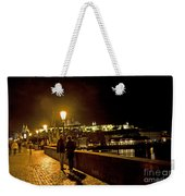 Night On The Charles Bridge Weekender Tote Bag